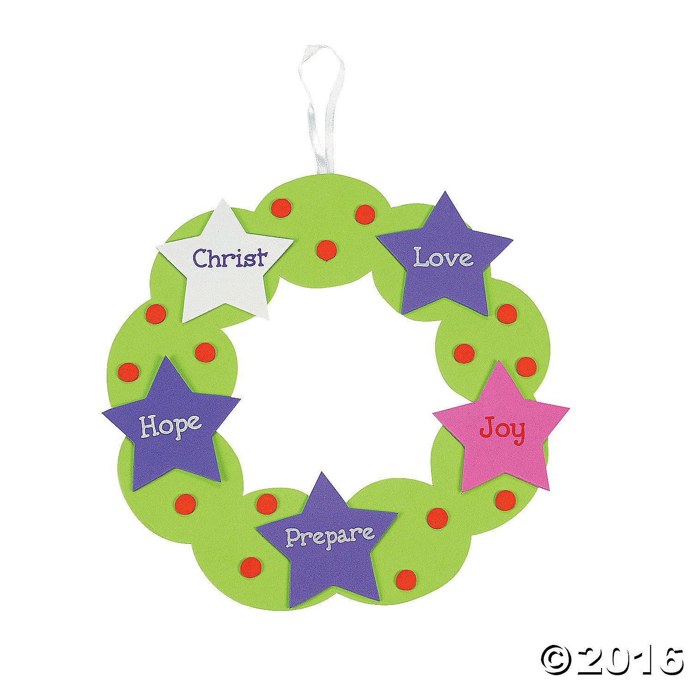 Advent Wreath Craft Kit Advent crafts