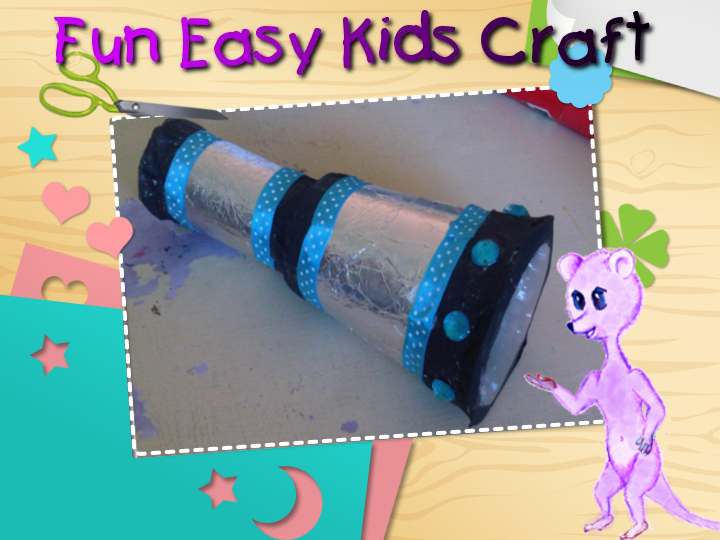 Pirate telescope craft for toddlers and preschoolers ...
