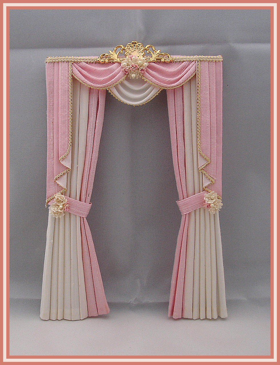 Swags Tails Curtains Simply Silk Miniatures