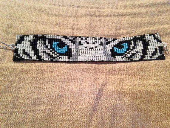 Seed Eyes Pattern Bead Loom