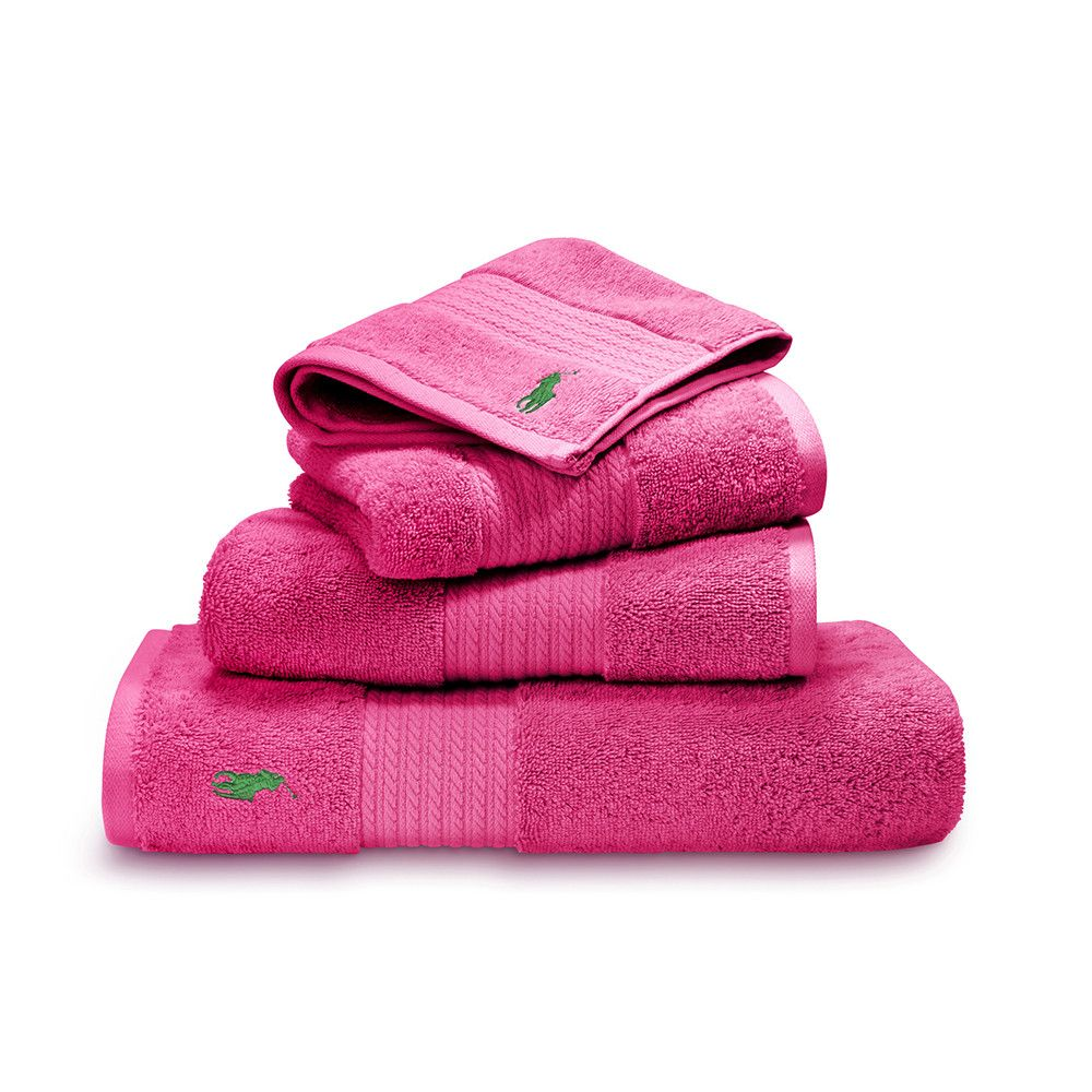 Ralph Lauren Bath Sheet Pleasing Player Towel  Pink  Bath Towel Inspiration