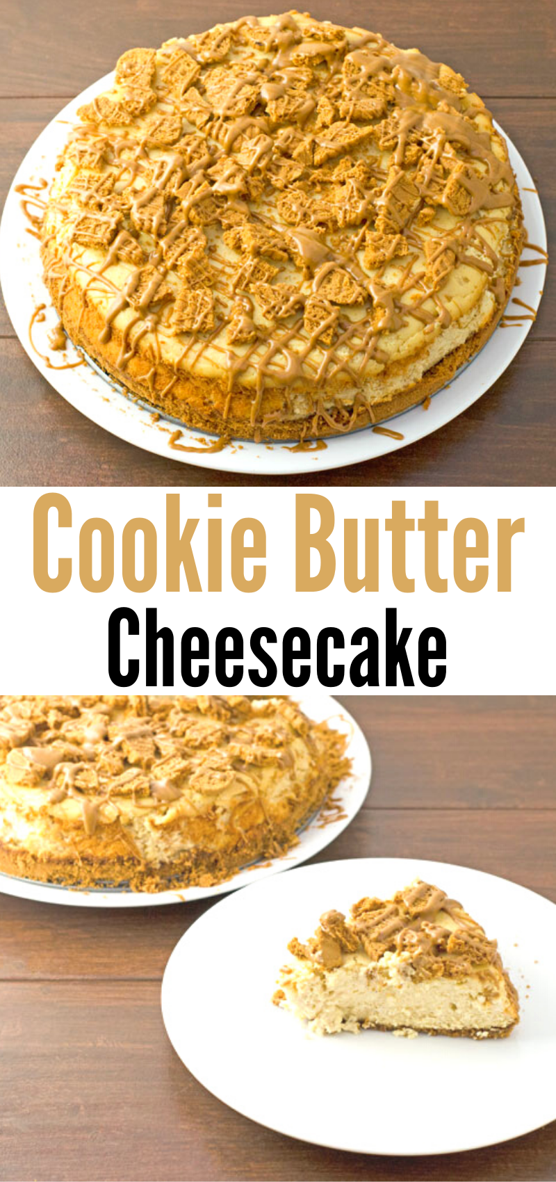 Cookie Butter Cheesecake Recipe Cheesecake Recipes Recipes Cheesecake