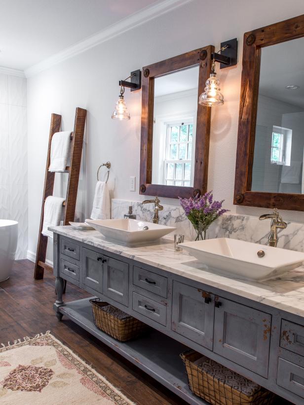 Dramatic Before And After Bathroom Renovations Hgtv Budget Bathroom Remodel Stylish Bathroom Bathroom Remodel Master
