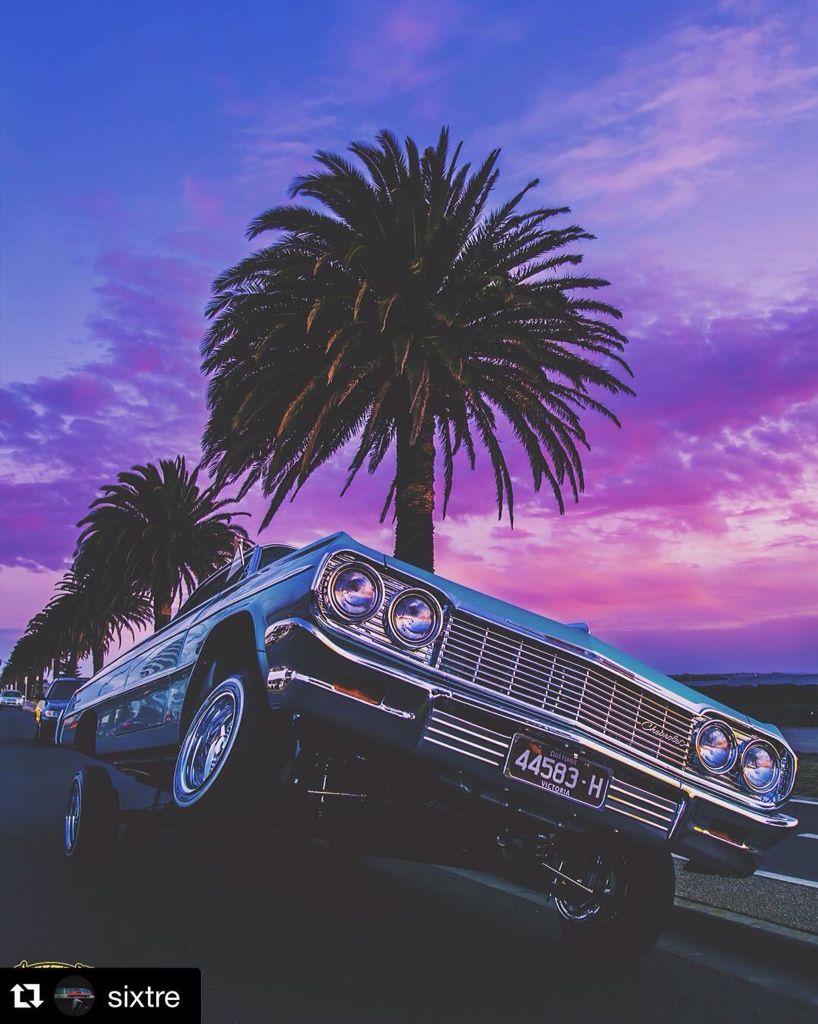The Cali Way 64 Impala Lowrider California Classic Cars Lowrider Cars