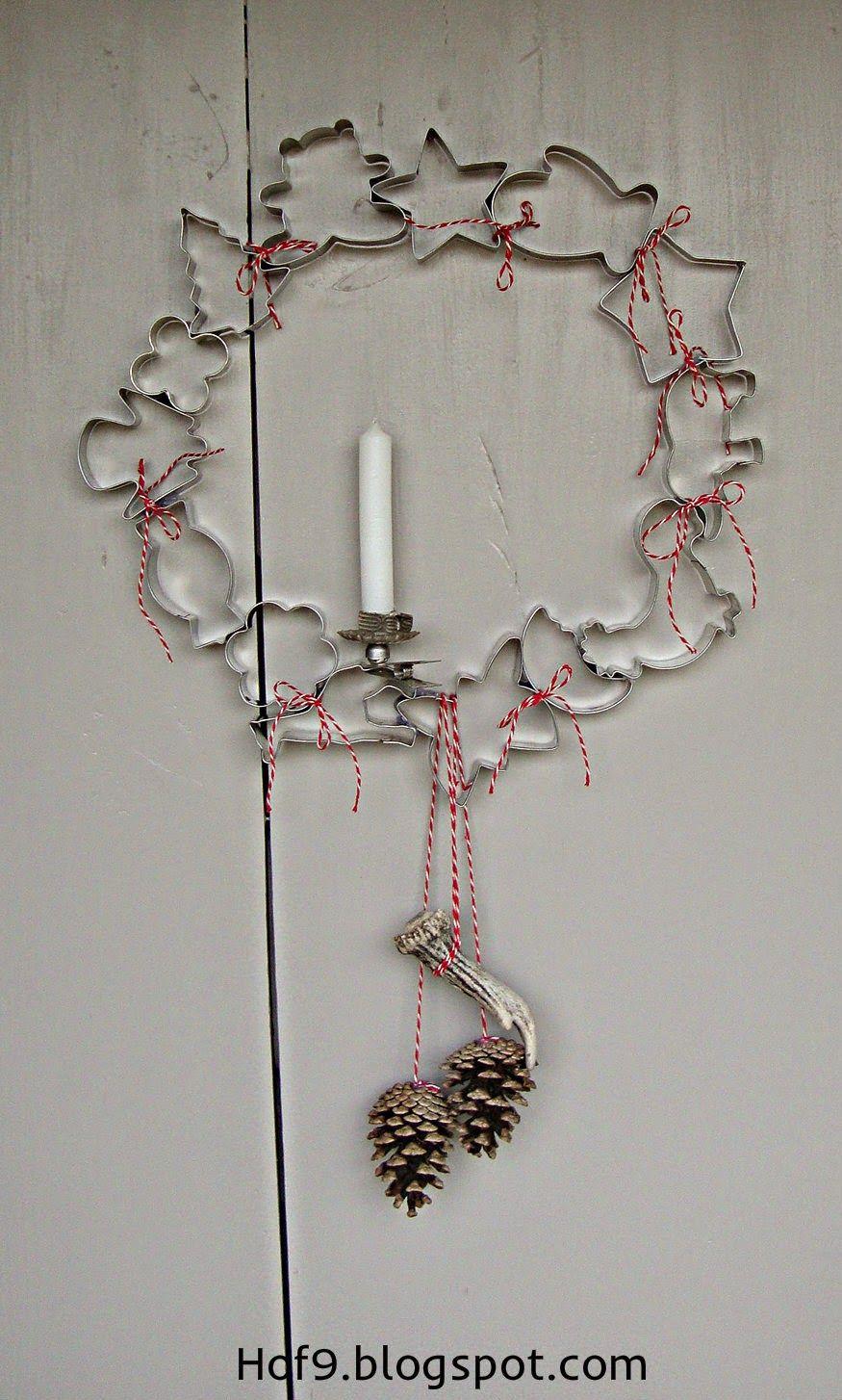DIY II. Teil #Weihnachtsdeko #Kranz #Ausstechförmchen #Backförmchen #Plätzchenausstecher #weihnachtsmarktideenverkauf