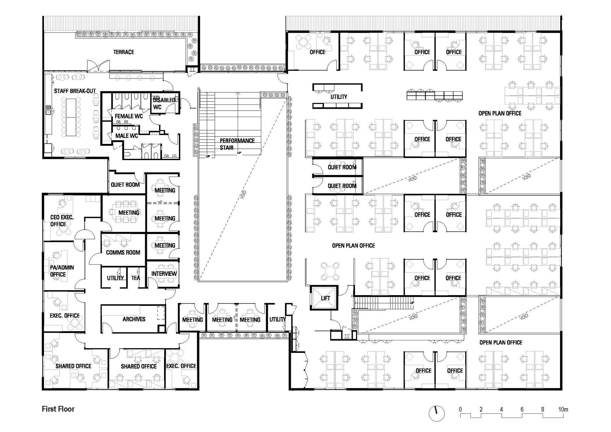 Primary health care center design