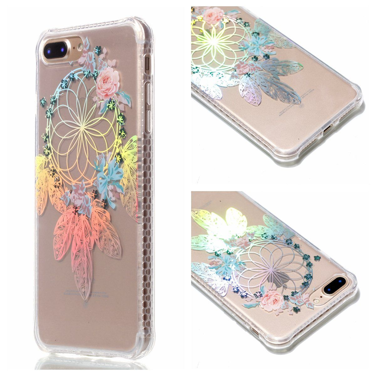 Coloring pages mandala · aiiyg ds iphone 7 plus iphone 8 plus case electroplating mandala floral pattern case