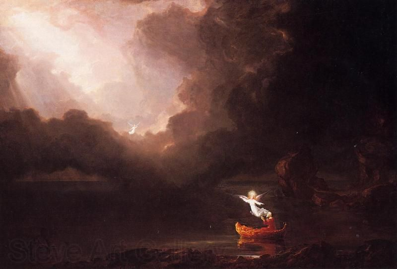 The Voyage of Life by Thomas Cole