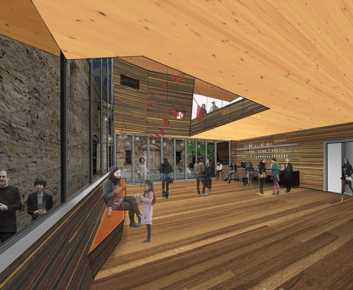 Gallery of LTL Architects' Timber Intervention Wins