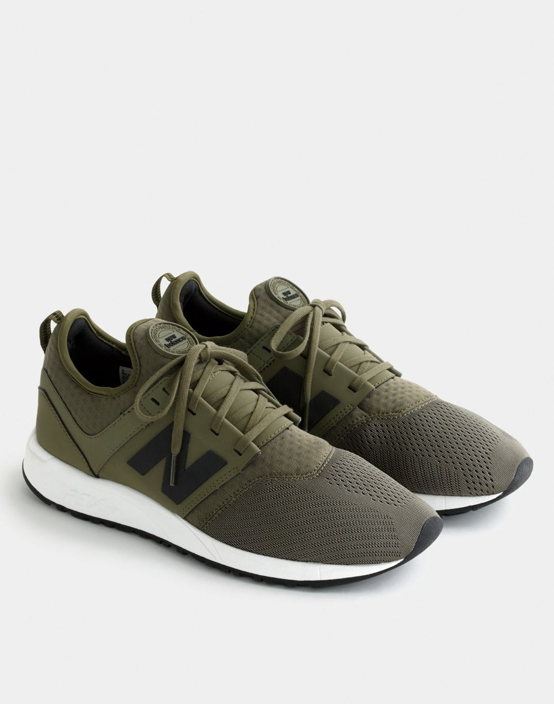 J.Crew men's New Balance® 247 Sport sneakers in olive