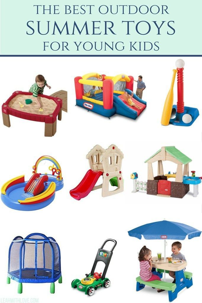 the best outdoor toys for summertime. - Summer Toys + Bucket List Best Gifts Top Toys Toys, Outdoor Toys