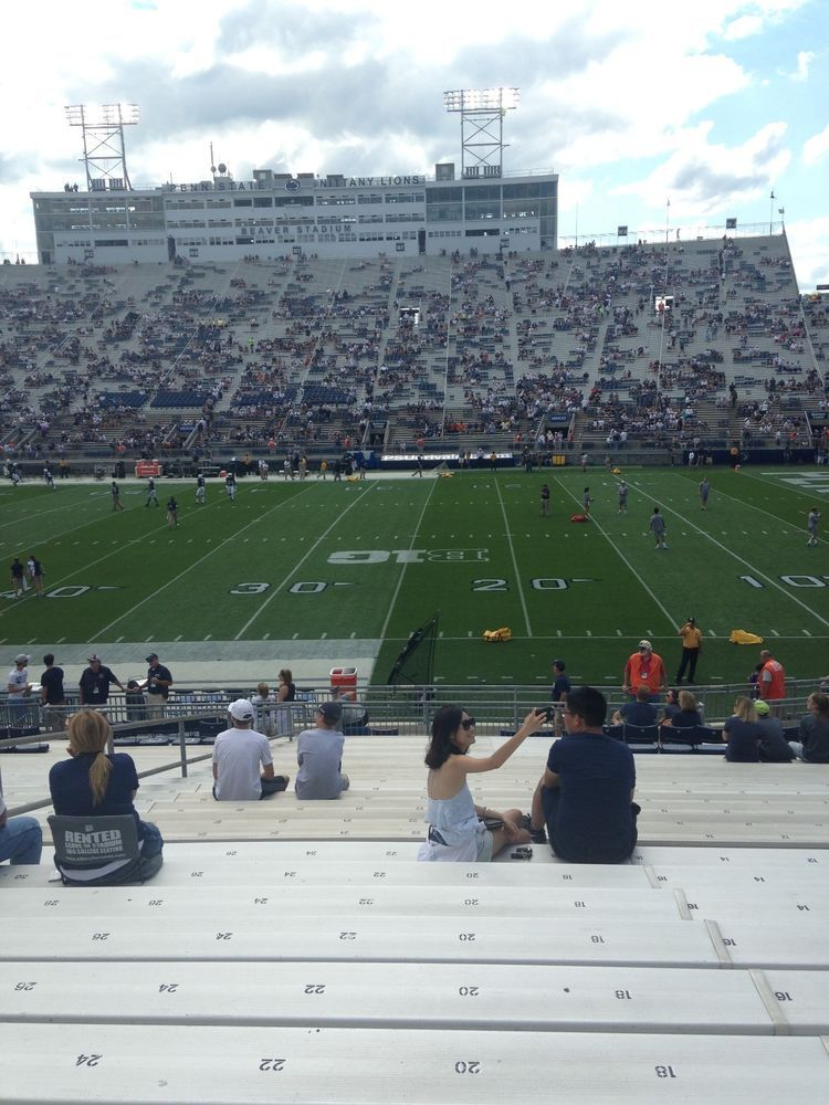 2 Penn State Vs Maryland Football Tickets Eg Lower W Parking 11 24