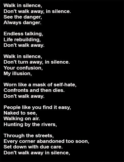 Happiness! walking naked down the street lyrics remarkable, very