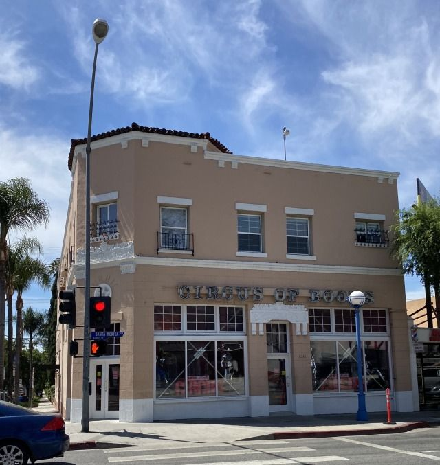 Circus of Books on Santa Monica Boulevard in West Hollywood was the subject of a recent Netflix documentary, along with a 2nd location in Los Angeles. #glitteratitoursla