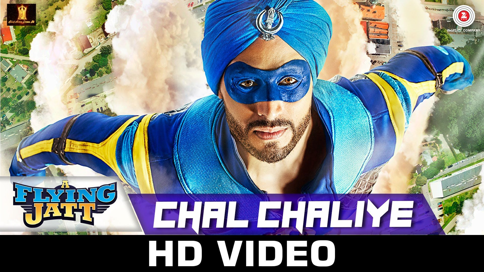Chal chaliye is the new song from a flying jatt movie