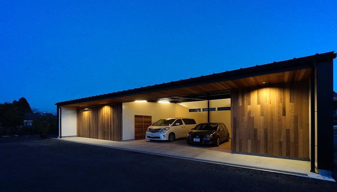 Garages おしゃれまとめの人気アイデア Pinterest Paulxms カーポートのデザイン ガレージライフ ガレージ外観