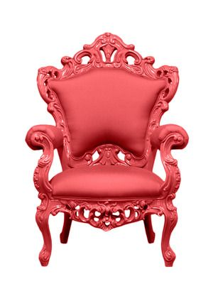 Red Outdoor King Chair By Polart King Chair Outdoor