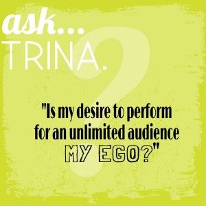 """""""How Can I Tell if My Deepest Desire is My Ego?"""" -"""