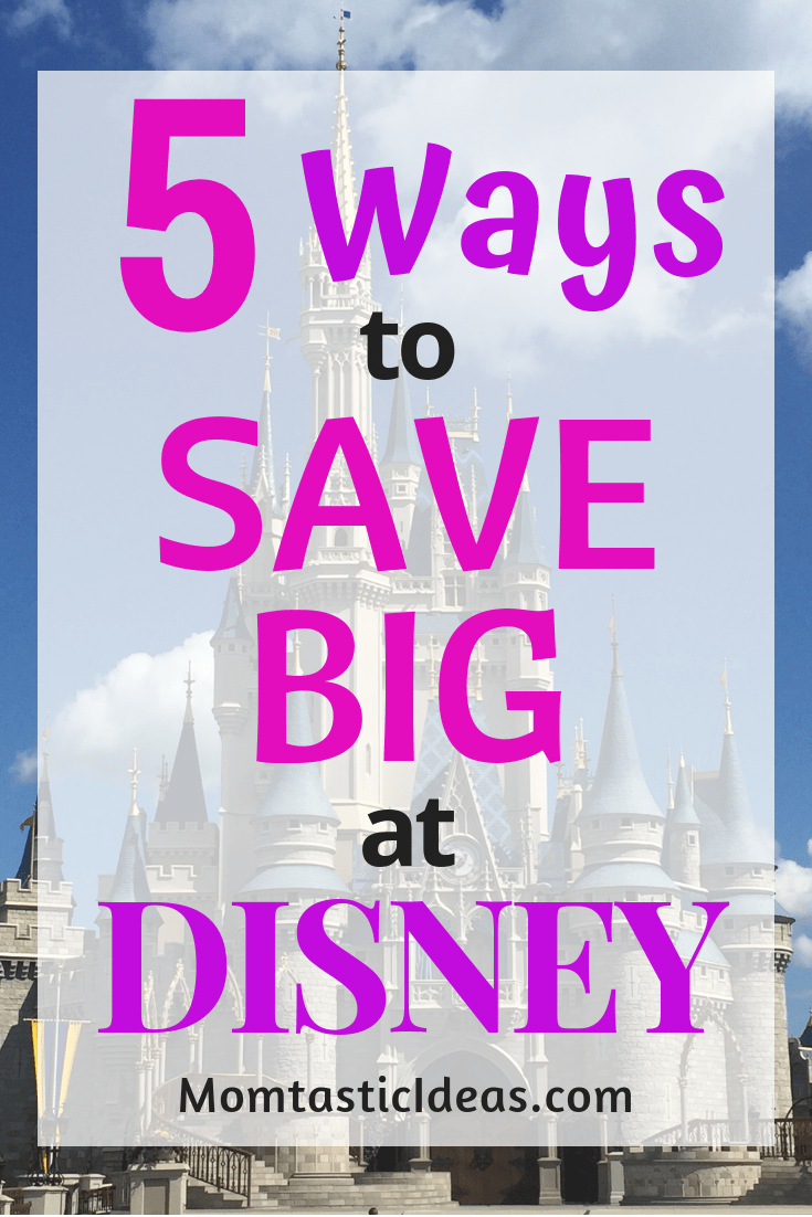 Ways to Save Money at Disney #disney #savemoney #disneytrip #moneysavers #savemoneyatdisney #savingmoney #familyvacation