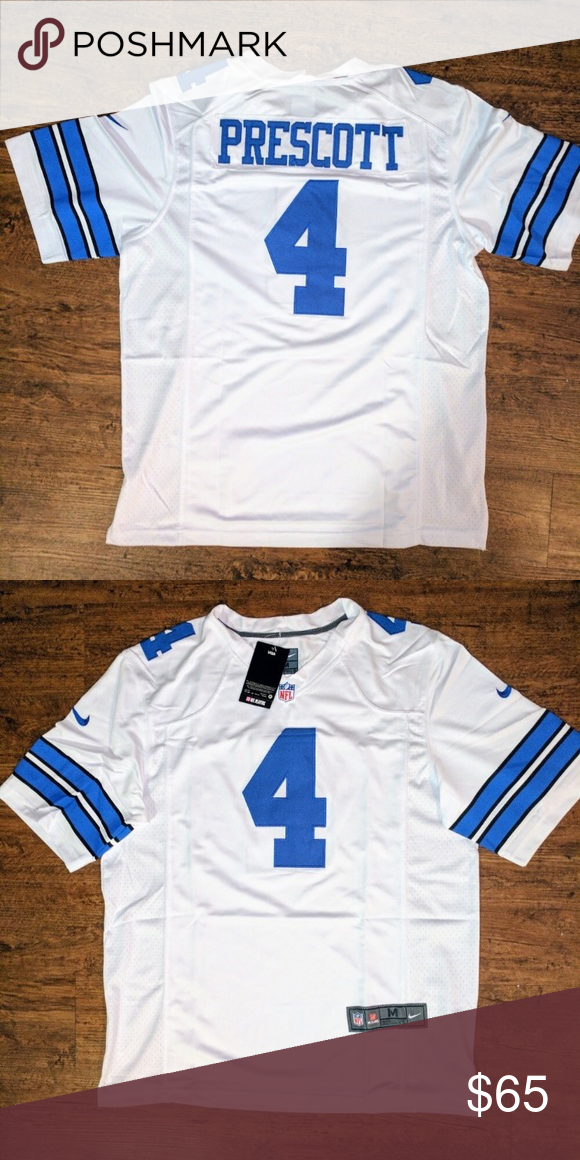 Nwt Dak Prescott Cowboys Jersey Brand New Dak Prescott Dallas Cowboys Jersey Shirts Dak Prescott Cowboys Clothes Design Dallas Cowboys Jersey