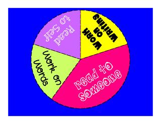 Flipping for First Grade!: spinner