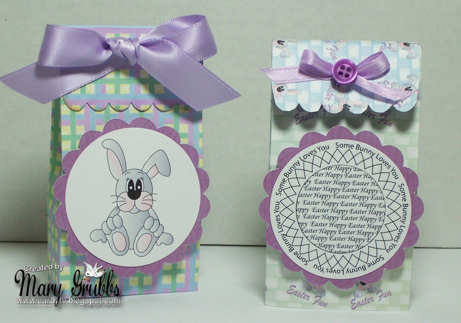 Cardz tv digital delights sunday tutorial easter gift bags gift welcome to another sunday tutorial for digital delights today ill be showing you 2 cute easter gift bags negle Images