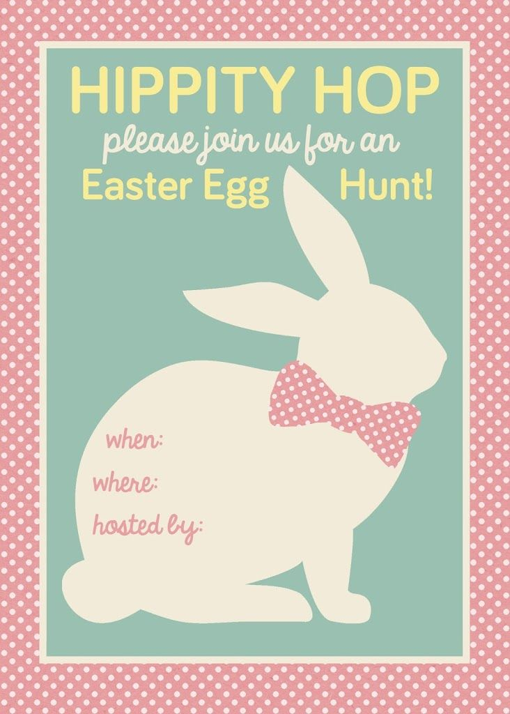 Easter Egg Hunt Printable My Sister S Suitcase Easter
