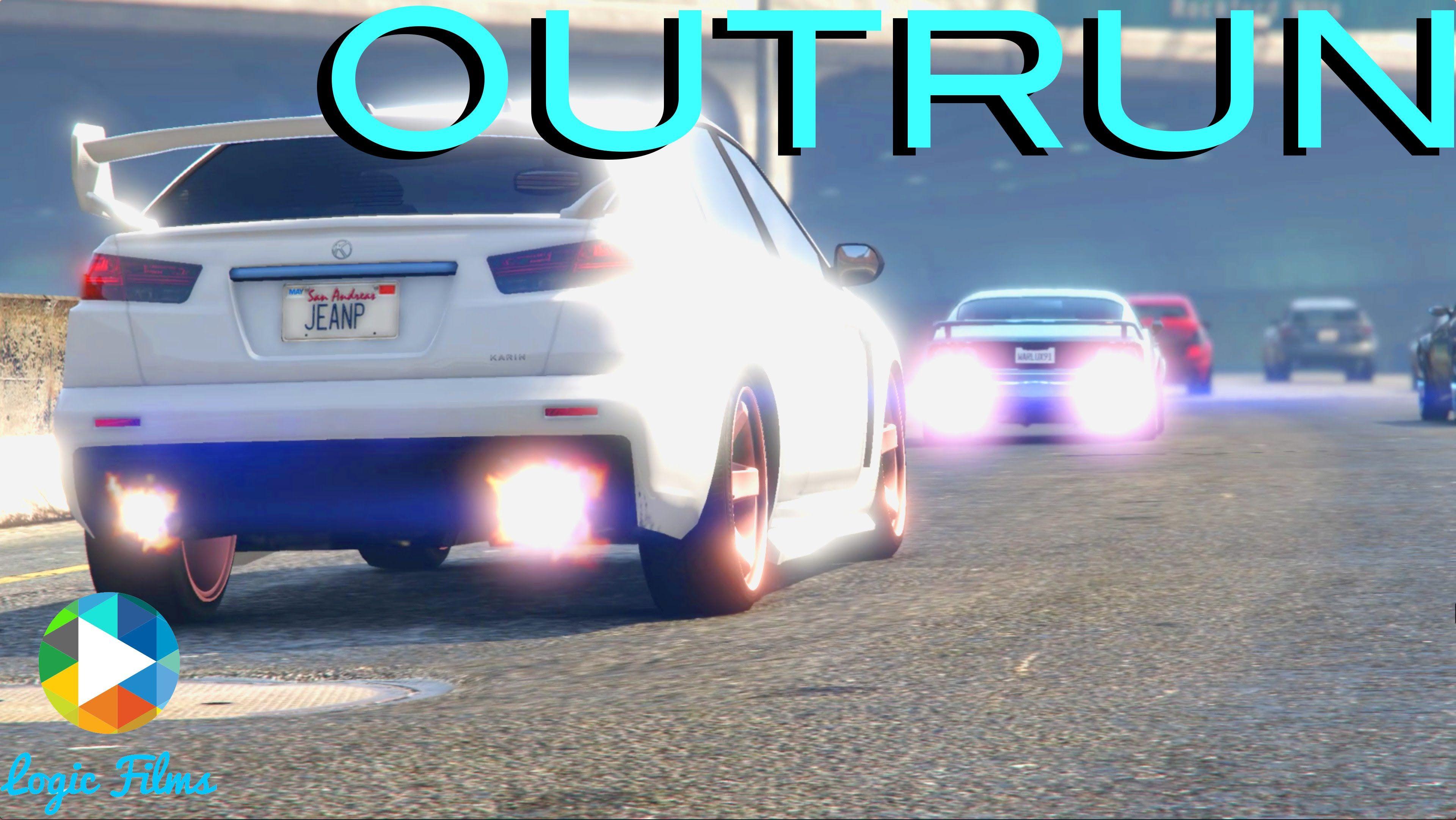 "Short Film; ""Outrun"" ! #GrandTheftAutoV #GTAV #GTA5 #GrandTheftAuto #GTA #GTAOnline #GrandTheftAuto5 #PS4 #games"