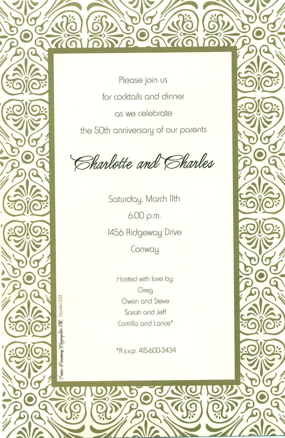 downloadable dinner invitations templates free download free