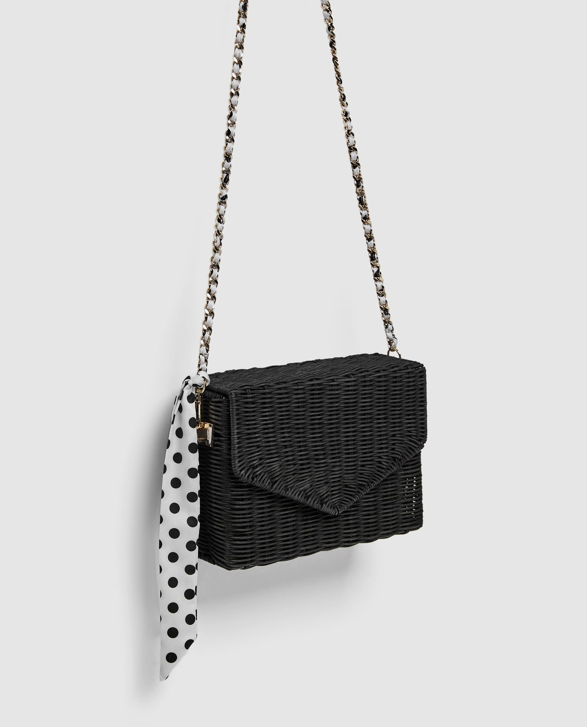 aae1c03d8f Raffia cross-body bag | Zara 2018 | Crossbody bag, Bags, Zara