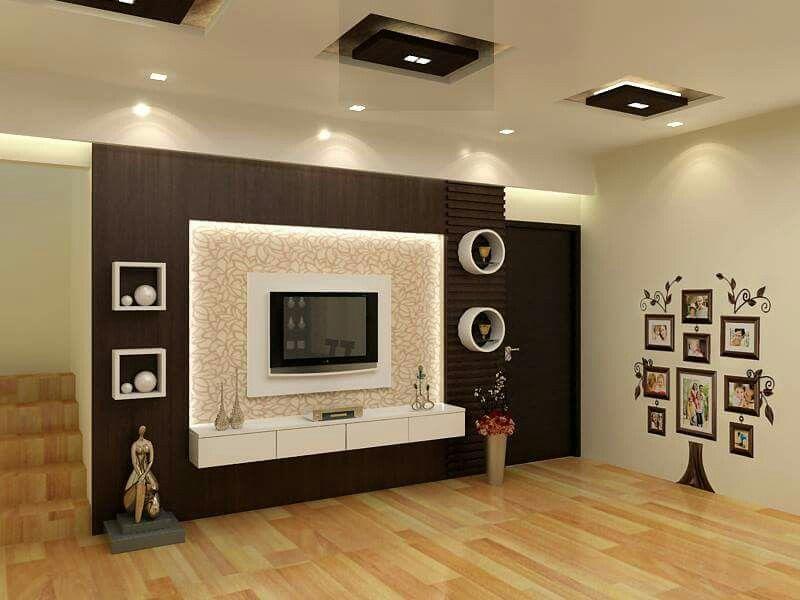 Pin by Sneh on interior / home | Tv unit interior design ...