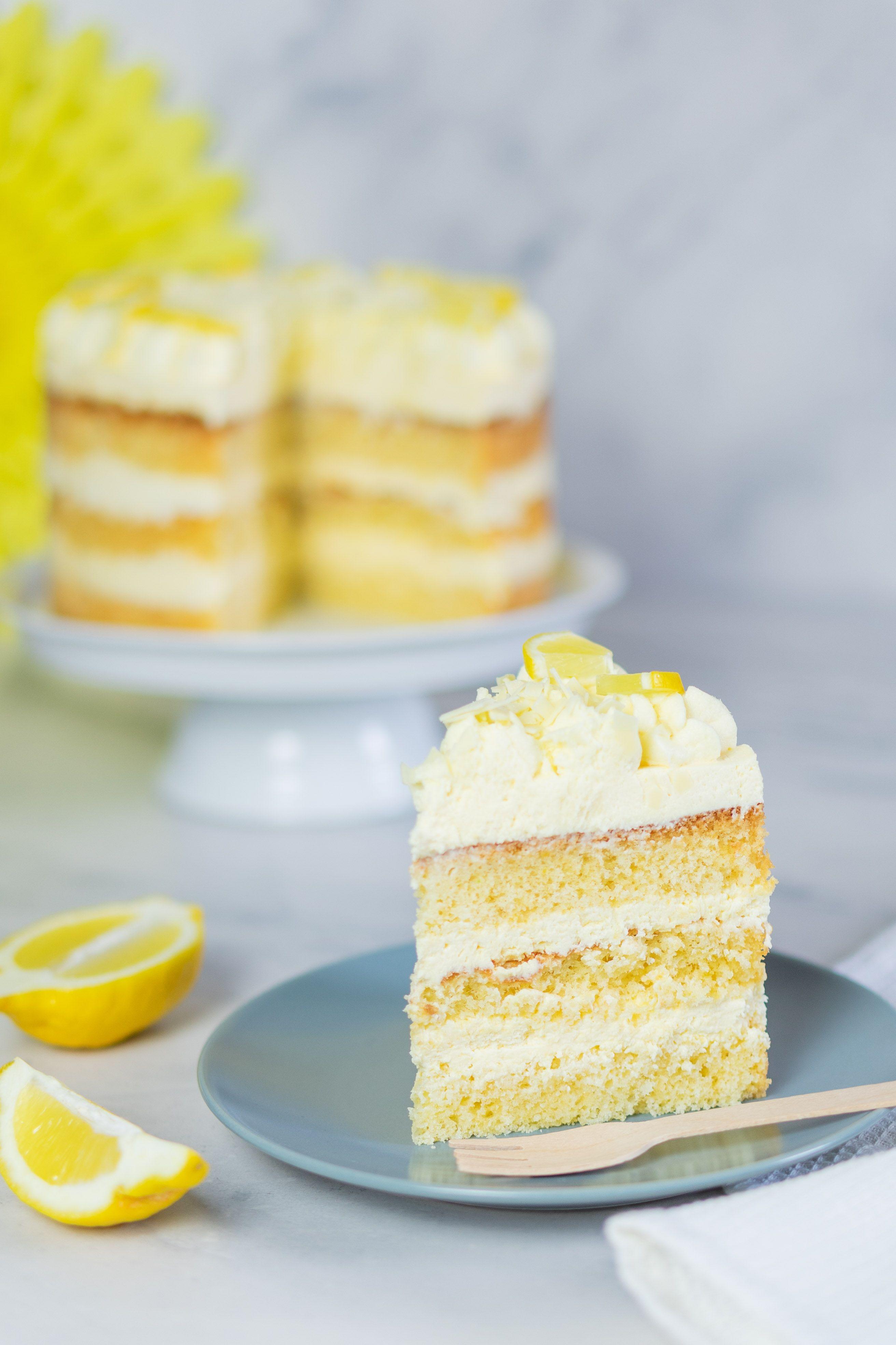 Zitronencreme Torte Mit Lemon Curd Mein Naschgluck Rezept Zitronencreme Torte Zitronen Creme Zitronencreme