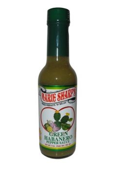 The Absolute Best Hot Sauce In World Marie Sharp S Green Habanero Pepper With Ley Pear