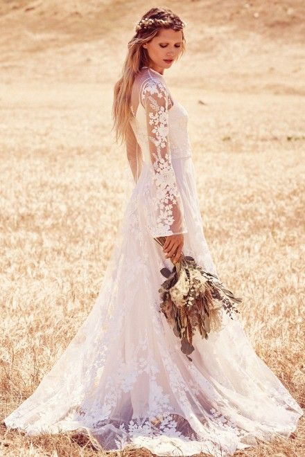 free people unveil new boho-inspired wedding dress collection