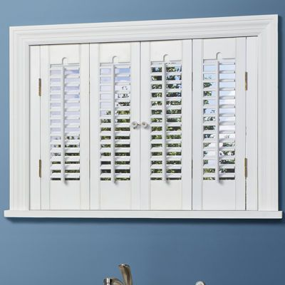 Home™ Traditional Wood Interior Shutters   4 Panels | Interior Shutters,  Wood Interiors And Traditional