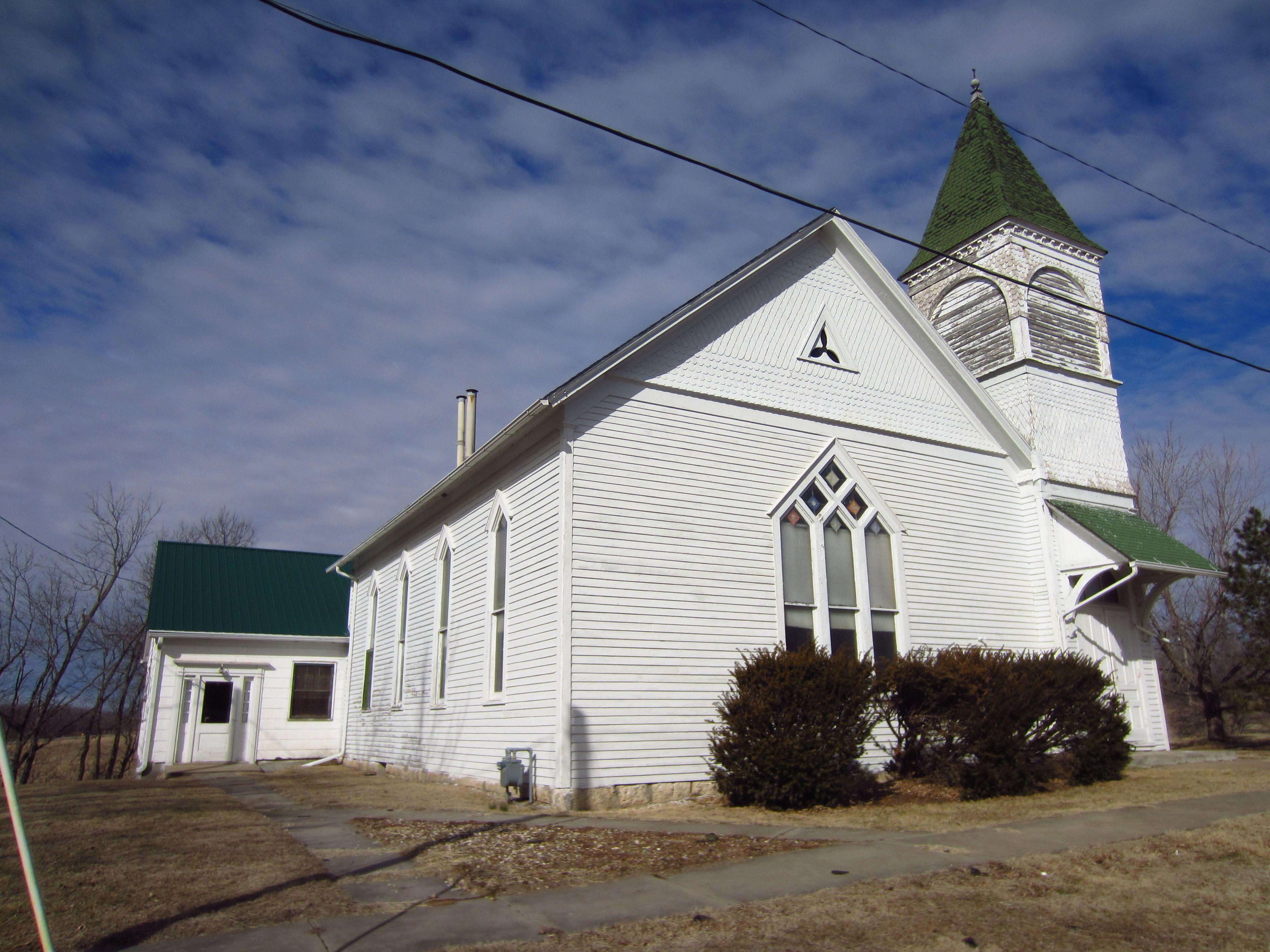 Bethany Brethren Church Hamlin Brown County The Building Reflects A Vernacular Interpretation