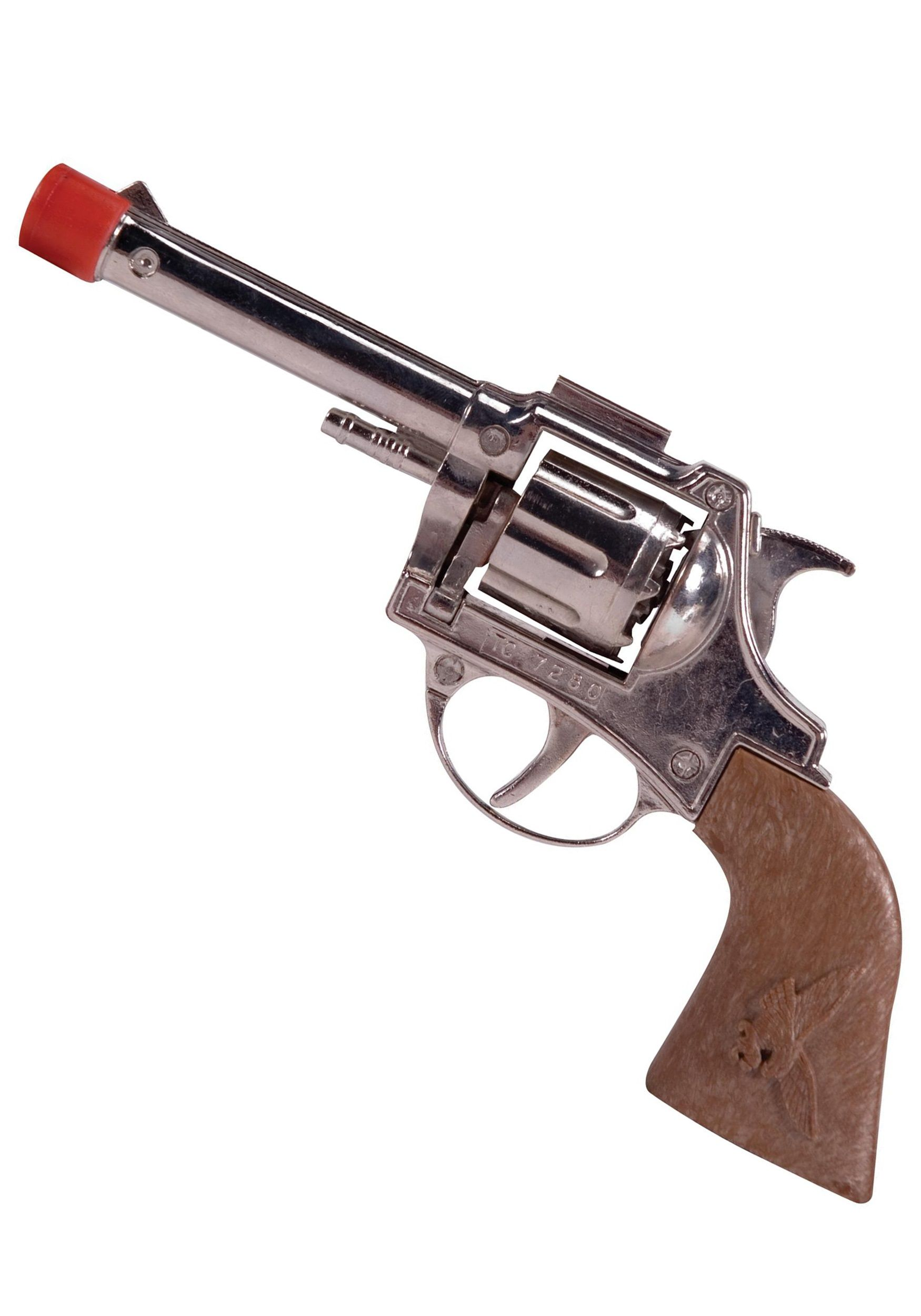 Double pistol handgun revolver gun display case cabinet rack shadowbox - Complete Your Cowboy Costume Or Police Officer Costume With This Die Cast Toy Cap Gun