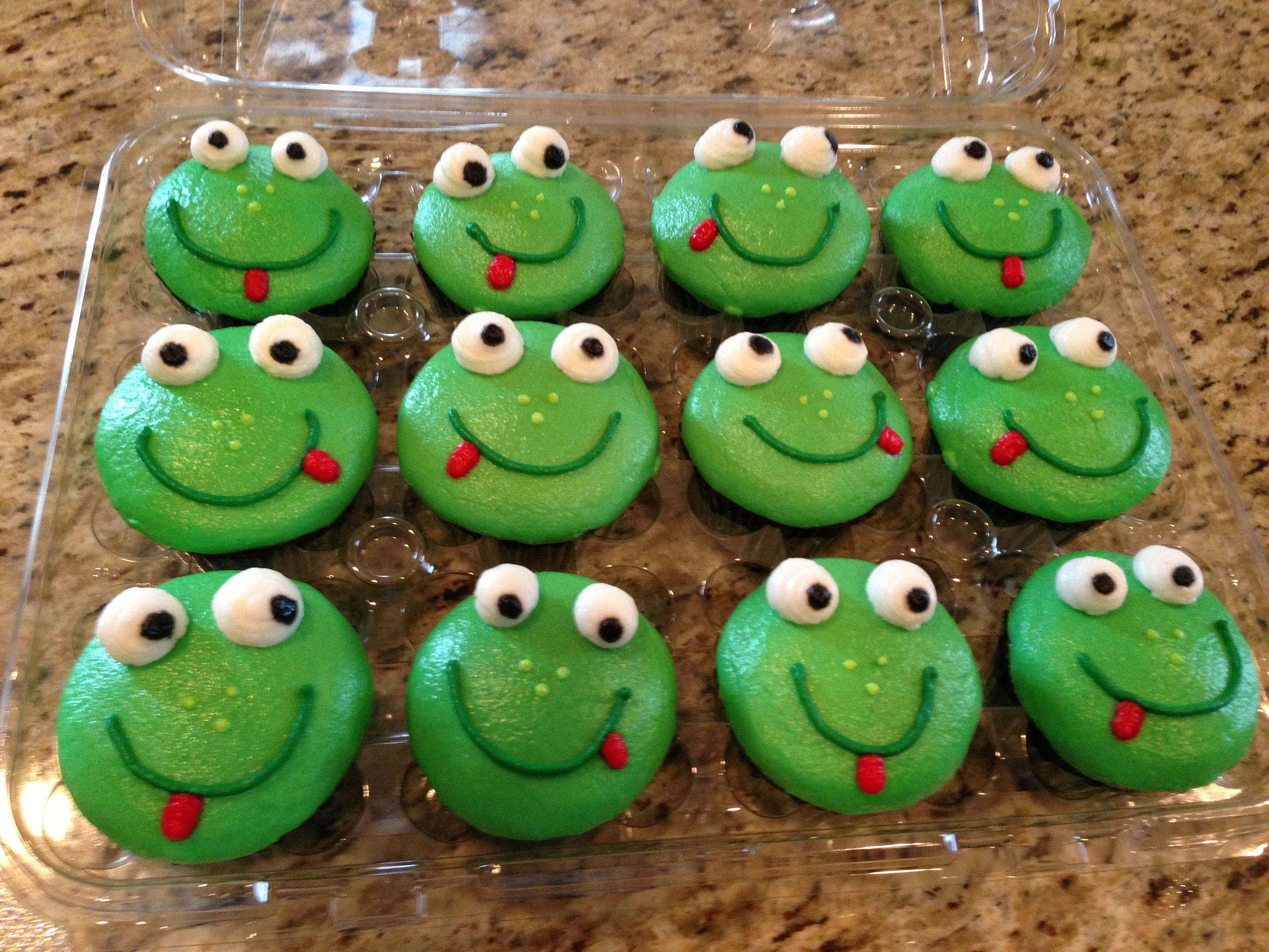 Love These Frog Cupcakes For The Kids C Star Cakes In Allen Tx