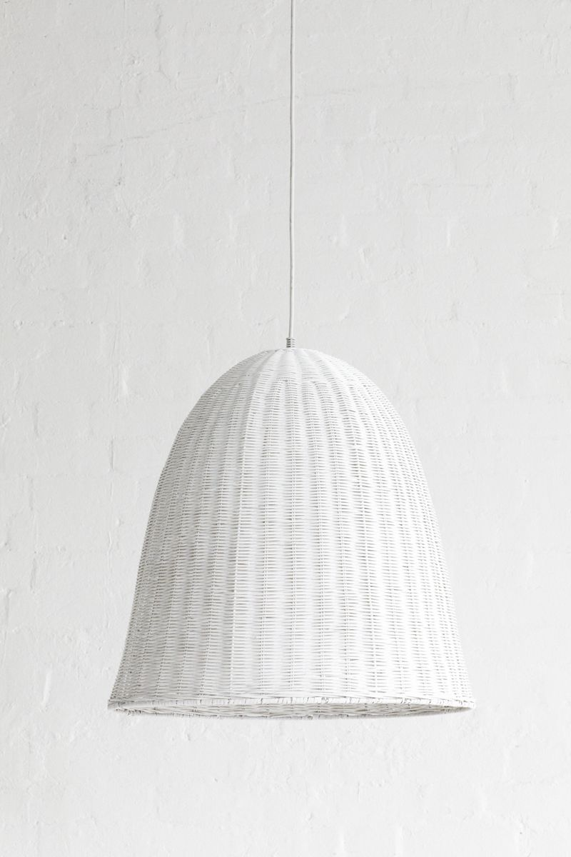 Large Rattan Light Shade White Light Shades Rattan Pendant