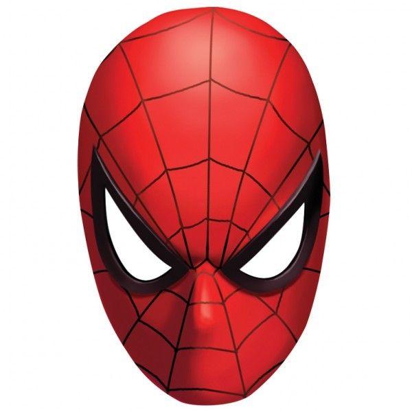 Spider Man Classic Paper Masks 24cm X 15 4cm Spiderman Coloring Spiderman Spiderman Mask
