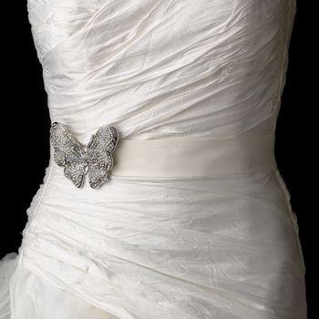 Butterfly Theme Wedding Dress Belt