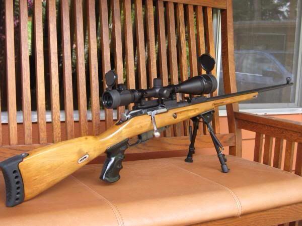 Custom mosin nagant with pistol grip  | Mosin nagant ! 3