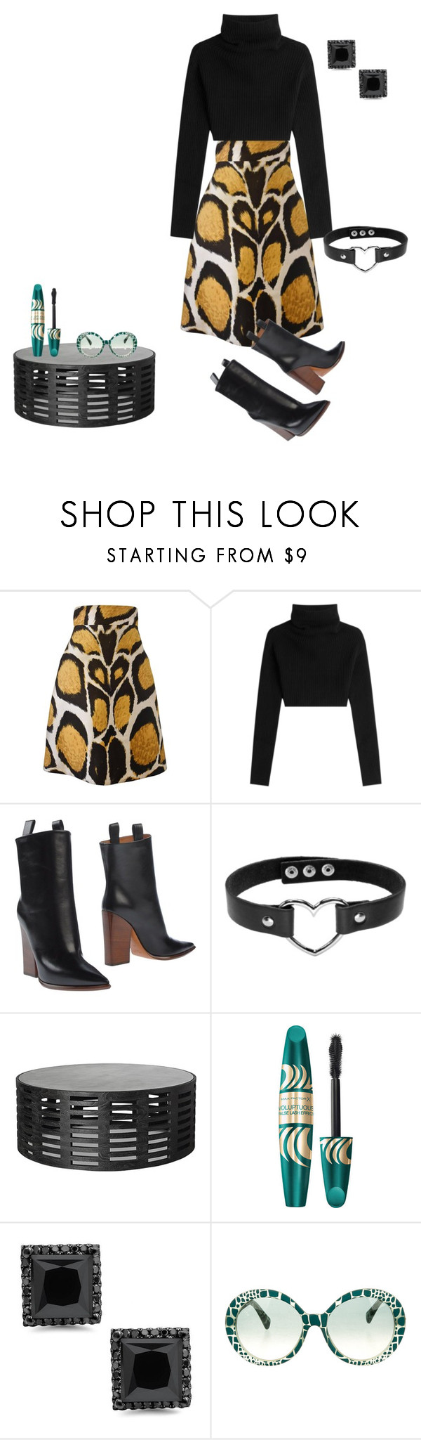 """Untitled #2693"" by ayse-sedetmen ❤ liked on Polyvore featuring Giles, Valentino, CÉLINE, Max Factor and Emilio Pucci"