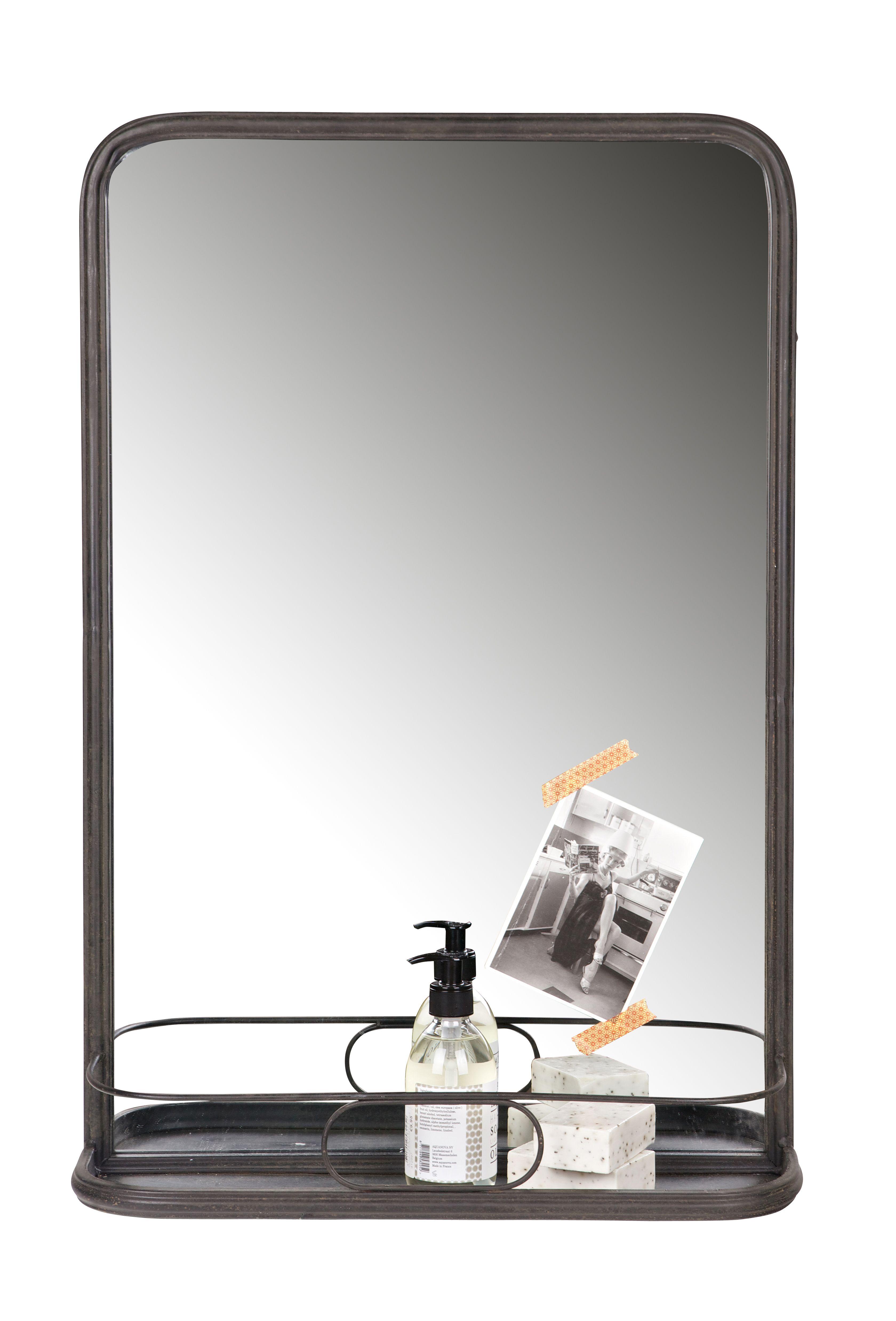 planchet mirror bepurehome spiegel mit ablage spiegel met