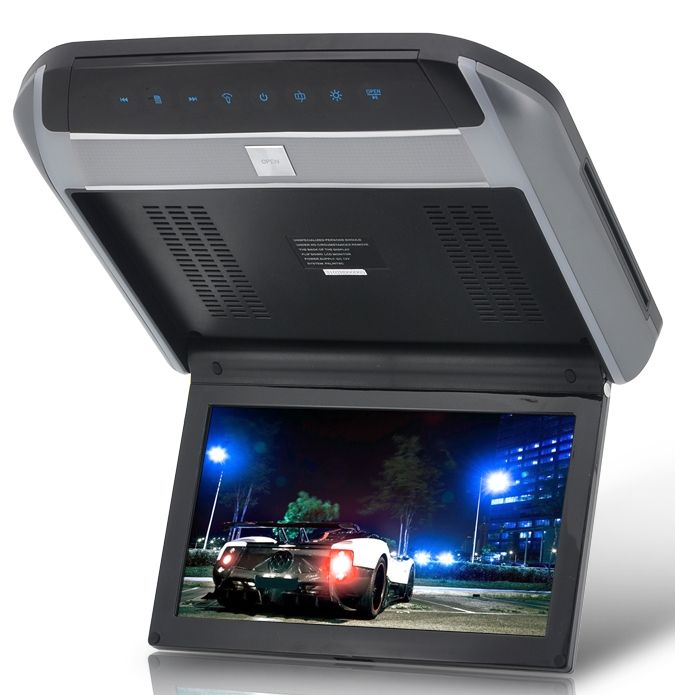 Flip Down Car Roof Monitor With Dvd Player Dvd Player Headrest Dvd Player Car Dvd Players