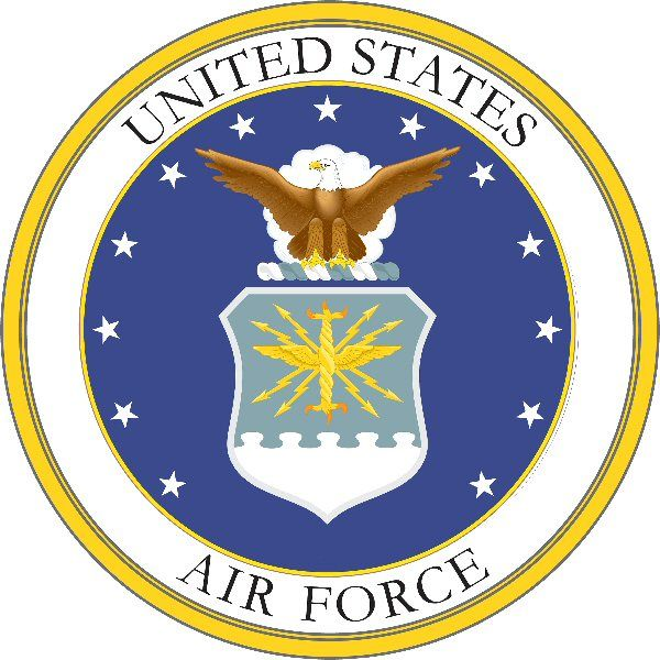 Coat Of Arm Symbols Usa States The Usaf Symbol And Coat Of Arms