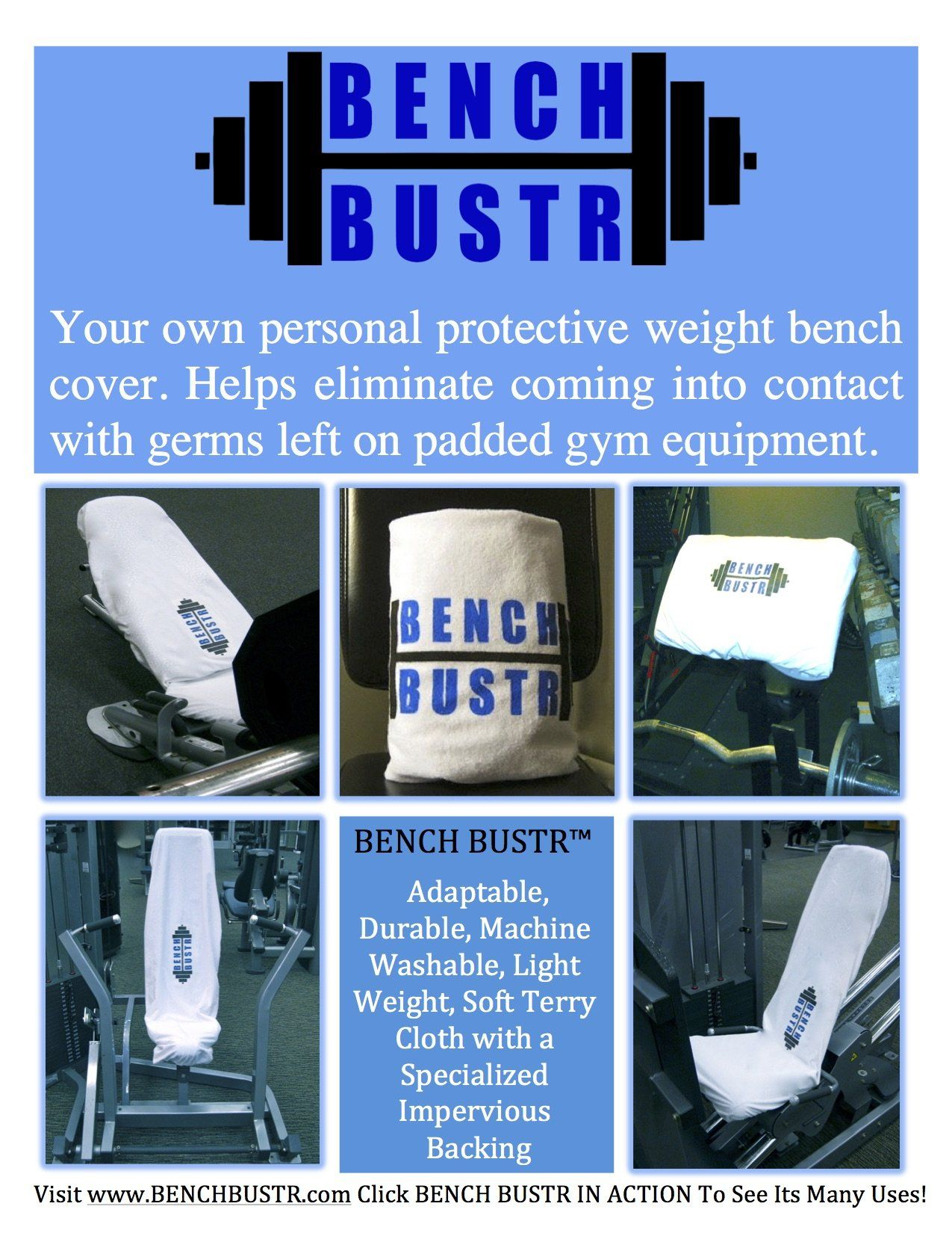 Bench Bustr Weight Bench Fitness Towel Cover Gym Towel Fitness Gym Protective Barrier Towel Cover Bodybuilding Health H Gym Towel Towel Workout Weight Benches