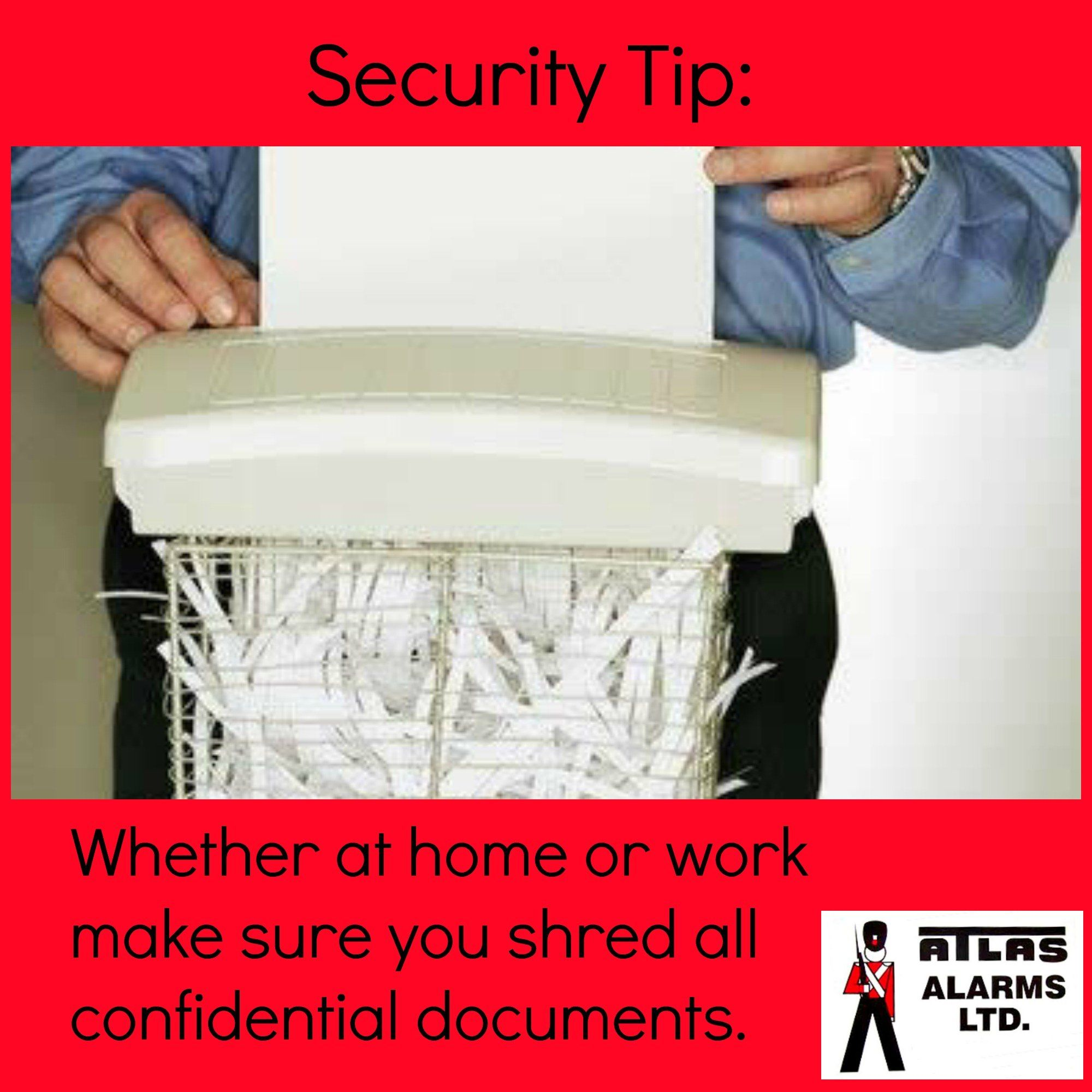 Do you shred? How to plan, Document shredding, Security tips