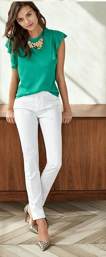 f316d074365 Fashionable Work Outfits Work attire ideas for Fashion outfits Work Outfits  Office Outfits Fall Fashion 2019 Winter Outfits 2019 Pants Outfits 2019  Crop Top ...