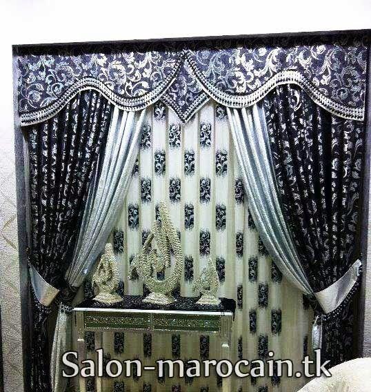 Double-rideaux-occultants-exceptionnel | salon marocain | Double ...